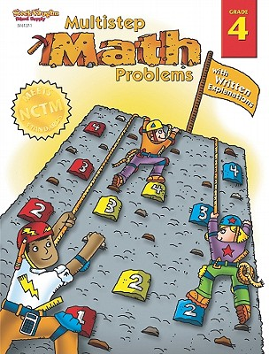 Steck-Vaughn Math Multistep Problems: Student Book Grade 4 Multistep Math with Written Explanations - Steck-Vaughn Company (Prepared for publication by)