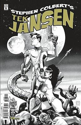Stephen Colbert's Tek Jansen #2: The Danger Express to Doom!/Return to Space Academy - Colbert, Stephen, and Layman, John, and Peyer, Tom