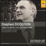 Stephen Dodgson: Complete Music for Cello and Piano