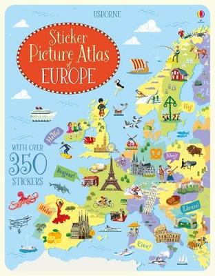 Sticker Picture Atlas of Europe - Melmoth, Jonathan