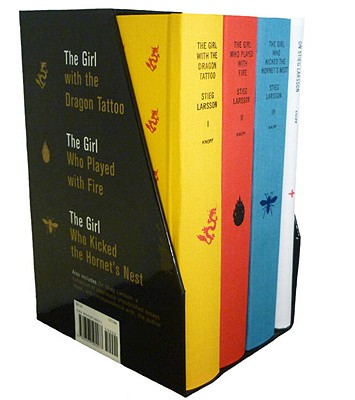 Stieg Larsson's Millennium Trilogy Deluxe Boxed Set: The Girl with the Dragon Tattoo, the Girl Who Played with Fire, the Girl Who Kicked the Hornet's Nest, Plus on Stieg Larsson - Larsson, Stieg