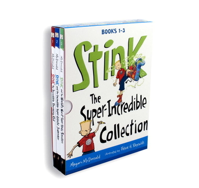 Stink: The Super-Incredible Collection: Books 1-3 - McDonald, Megan