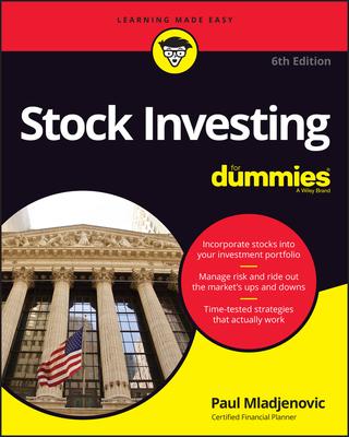 Stock Investing for Dummies - Mladjenovic, Paul