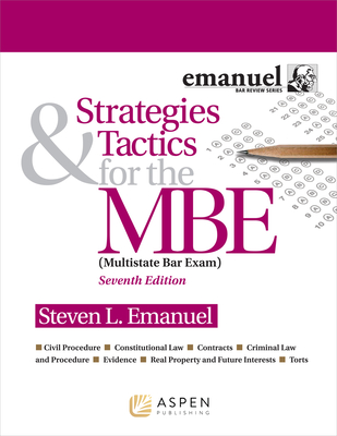Strategies & Tactics for the MBE - Emanuel, Steven