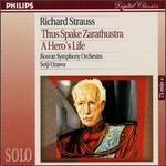 Strauss: Also Sprach Zarathustra, Op. 30; Ein Heldenleben, Op. 40