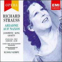 Strauss: Ariadne auf Naxos - Adele Stolte (vocals); Annelies Burmeister (vocals); Eberhard Büchner (vocals); Erich-Alexander Winds (vocals);...