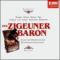 Strauss Jr.: Der Zigeunerbaron - Biserka Cvejic (vocals); Gisela Litz (vocals); Grace Bumbry (vocals); Hermann Prey (vocals); Kurt Böhme (vocals);...