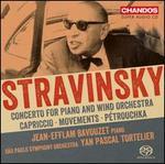 Stravinsky: Concertos - Jean-Efflam Bavouzet (piano); Orquestra Sinfónica do Estado de São Paulo - OSESP; Yan Pascal Tortelier (conductor)