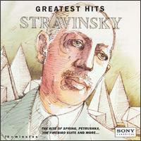 Stravinsky: Greatest Hits - Branford Marsalis (saxophone); Columbia Chamber Ensemble; Ensemble InterContemporain; John Aler (tenor);...