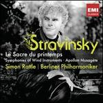 Stravinsky: Le Sacre du printemps; Symphonies of Wind Instruments; Apollon musag?te