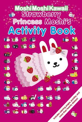 Strawberry Princess Moshi's Activity Book -