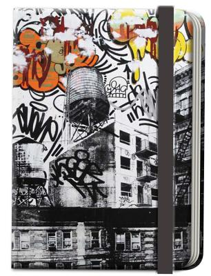 Street Notes-New York Artwork by Avone (Large Hardcover Journal): 144-Page Lined Notebook -
