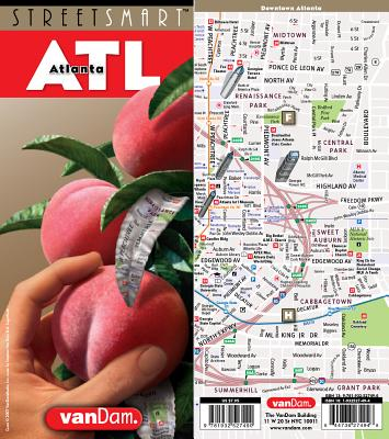 Streetsmart Atlanta Map by Vandam - Van Dam, Stephan