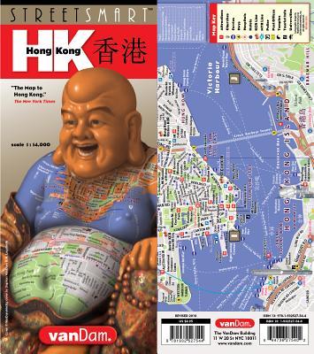 Streetsmart Hong Kong Map by Vandam - Van Dam, Stephan (Editor)