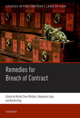 Studies in the Contract Laws of Asia - Chen-Wishart, Mindy (Editor)