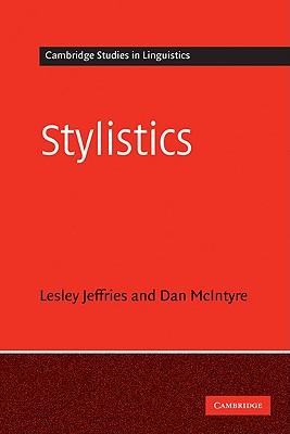 Stylistics - Jeffries, Lesley, and McIntyre, Daniel