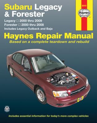 Subaru Legacy/Forester 2000-09 - Haynes Publishing