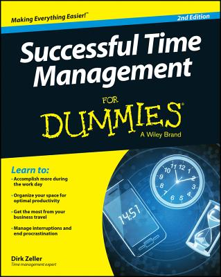 Successful Time Management for Dummies - Zeller, Dirk