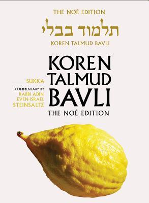 Sukka - Steinsaltz, Adin Even-Israel, Rabbi