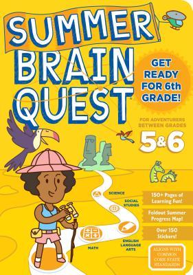 Summer Brain Quest: Between Grades 5 & 6 - Workman Publishing, and Heos, Bridget, and Piddock, Claire