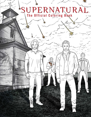 Supernatural: The Official Coloring Book - Insight Editions (Creator)