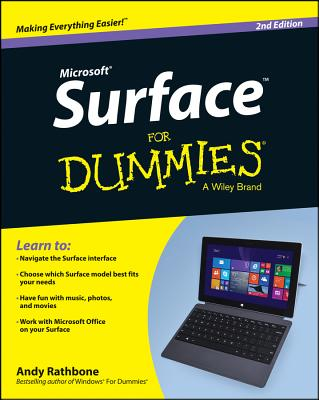 Surface for Dummies - Rathbone, Andy