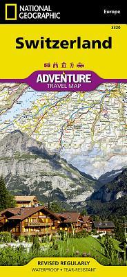 Switzerland-Adventuremap (Adventure Travel Map) (National Geographic Adventure Travel Maps) - National Geographic Maps