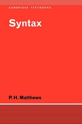 Syntax - Matthews, P H