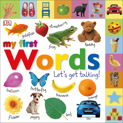 Tabbed Board Books: My First Words: Let's Get Talking! - DK