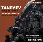 Taneyev: Suite de Concert; Rimsky-Korsakov: Fantasy on Russian Themes