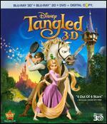 Tangled [4 Discs] [Includes Digital Copy] [2D/3D] [Blu-ray/DVD]