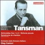 Tansman: Symphonies Vol. 4