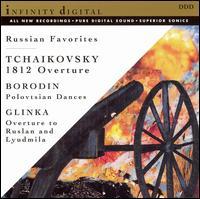 Tchaikovsky: 1812 Overture; Borodin: Polovtsian Dances; Glinka: Overture to Ruslan and Lyudmila -