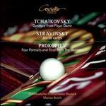 Tchaikovsky: Ouverture from Pique Dame; Stravinsky: Jeu de cartes; Prokofiev: Four Portraits and Fin