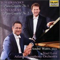 Tchaikovsky: Piano Concerto No.1/Saint-Saëns: Piano Concerto No.2 - André Watts (piano); Atlanta Symphony Orchestra; Yoel Levi (conductor)
