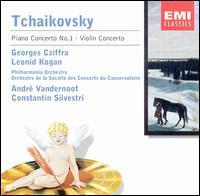 Tchaikovsky: Piano Concerto No. 1; Violin Concerto - György Cziffra (piano); Leonid Kogan (violin); Philharmonia Orchestra