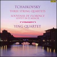 Tchaikovsky: String Quartets; Souvenir de Florence - James Dunham (viola); Paul Katz (cello); Ying Quartet