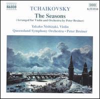 Tchaikovsky: The Seasons - Takako Nishizaki (violin); Queensland Symphony Orchestra; Peter Breiner (conductor)