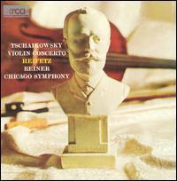 Tchaikovsky: Violin Concerto - Jascha Heifetz (violin); Chicago Symphony Orchestra; Fritz Reiner (conductor)