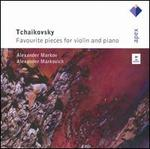 Tchaikovsky: Works for violin and piano