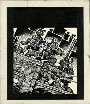 Teenage Mutant Ninja Turtles - Eastman, Kevin B, and Laird, Peter A