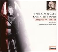 Telemann: Cantatas & Odes - Akademie f�r Alte Musik, Berlin; Ren� Jacobs (alto)