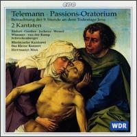 Telemann: Herr ich habe lieb die Stätte deines Hauses TWV2 - Das kleine Konzert; David Cordier (alto); Hans-Georg Wimmer (bass); Harry van der Kamp (bass); Kai Wessel (alto);...