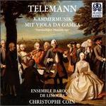 Telemann: Kammermusik mit Viola da Gamba
