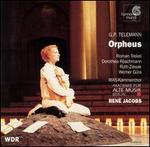 Telemann: Orpheus - Axel Köhler (counter tenor); Dorothea Röschmann (soprano); Hanno Muller-Brachmann (bass baritone);...