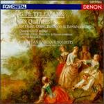 Telemann: Quartets for Flute, Oboe, Bassoon and Basso continuo