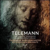 Telemann: Seliges Erwägen, Passions-Oratorium - Anna Lucia Richter (soprano); Colin Balzer (tenor); Hanna Zumsande (soprano); Henk Neven (bass); Henk Neven (baritone);...