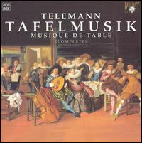 Telemann: Tafelmusik (Complete) - Alfredo Bernardini (oboe); Franc Polman (violin); Kate Clark (flute); Musica Amphion; Rémy Baudet (violin);...