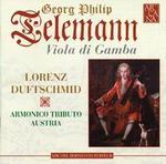 Telemann: Viola da Gamba