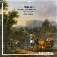 Telemann: Wind Concertos, Vol. 2 - Camerata Köln; Hans-Peter Westermann (oboe); Jörg Schultess (horn); Karl Kaiser (flute); La Stagione Orchestra;...
